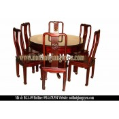 Bộ bàn ghế ăn tròn BGA-09