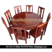 Bộ bàn ghế ăn tròn BGA-10