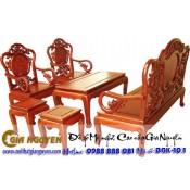 Bộ bàn ghế phòng khách Guột đào