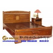 Giường ngủ gỗ tự nhiên cao cấp GN-23