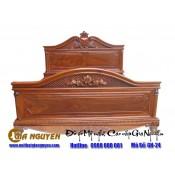 Giường ngủ gỗ tự nhiên cao cấp GN-24