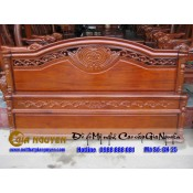 Giường ngủ gỗ tự nhiên cao cấp GN-25