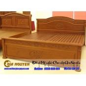Giường ngủ gỗ tự nhiên cao cấp GN-29