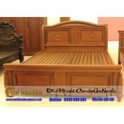 Giường ngủ gỗ tự nhiên cao cấp GN-30