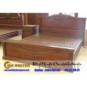 Giường ngủ gỗ tự nhiên cao cấp GN-31