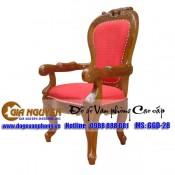 Ghế Louis gỗ tự nhiên