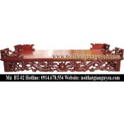 Bàn thờ gỗ tự nhiên kích thước lỗ ban BT-02