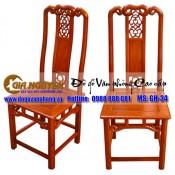 Ghế phòng họp gỗ tự nhiên