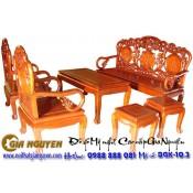 Bộ bàn ghế phòng khách Guột dơi