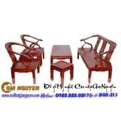 Bộ bàn ghế giả cổ Minh lùn