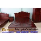 Giường ngủ gỗ tự nhiên cao cấp GN-05