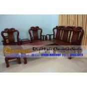 Bộ bàn ghế minh quốc đào gỗ gụ