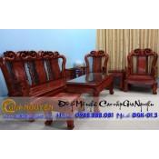 Bộ bàn ghế minh quốc đào gỗ hương