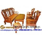 Bộ bàn ghế minh quốc hồng gỗ hương