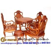 Bộ bàn ghế guột nho vách nu