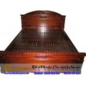 Giường ngủ gỗ tự nhiên cao cấp GN-09