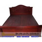 Giường ngủ gỗ tự nhiên cao cấp GN-10