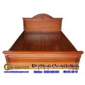 Giường ngủ gỗ tự nhiên cao cấp GN-14