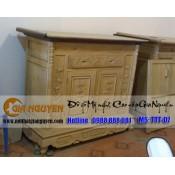 Tủ thờ gỗ gụ hai cánh