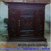 Tủ thờ gỗ tự nhiên kích thước 127 giá rẻ