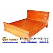 Giường ngủ gỗ tự nhiên cao cấp GN-15