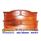 Giường ngủ gỗ tự nhiên cao cấp GN-18