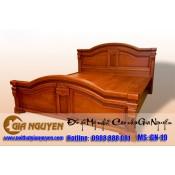 Giường ngủ gỗ tự nhiên cao cấp GN-19