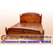 Giường ngủ gỗ tự nhiên cao cấp GN-20