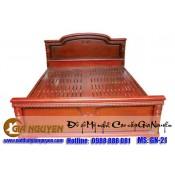 Giường ngủ gỗ tự nhiên cao cấp GN-21