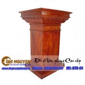 Đặt mua bục tượng bác gỗ tự nhiên
