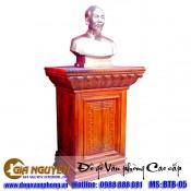 Báo giá bục tượng bác gỗ tự nhiên