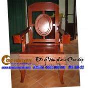 Ghế gỗ hội trường GH-22
