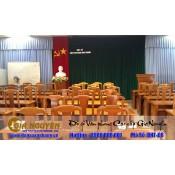 Bàn ghế hội trường BHT-08