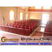 Bàn ghế hội trường BHT-14