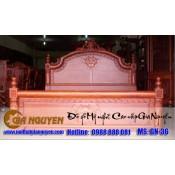 Giường ngủ gỗ tự nhiên cao cấp GN-36