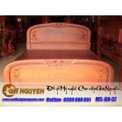 Giường ngủ gỗ tự nhiên cao cấp GN-37