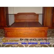 Giường ngủ gỗ tự nhiên cao cấp GN-38