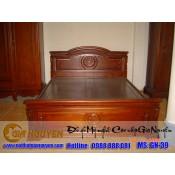 Giường ngủ gỗ tự nhiên cao cấp GN-39