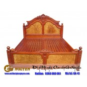 Giường ngủ gỗ tự nhiên cao cấp GN-41