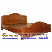 Giường ngủ gỗ tự nhiên cao cấp GN-50