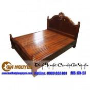 Giường ngủ gỗ tự nhiên cao cấp GN-51