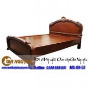 Giường ngủ gỗ tự nhiên cao cấp GN-52