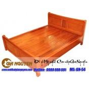Giường ngủ gỗ tự nhiên cao cấp GN-54