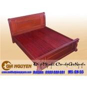 Giường ngủ gỗ tự nhiên cao cấp GN-55