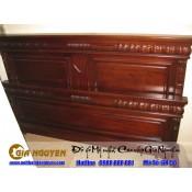 Giường ngủ gỗ tự nhiên cao cấp GN-56