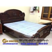 Giường ngủ gỗ tự nhiên cao cấp GN-57