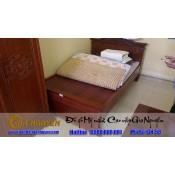 Giường ngủ gỗ tự nhiên cao cấp GN-58