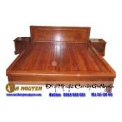 Giường ngủ gỗ tự nhiên cao cấp GN-60