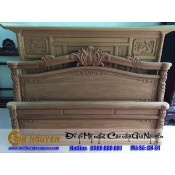 Giường ngủ gỗ tự nhiên cao cấp GN-61