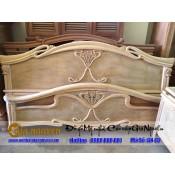 Giường ngủ gỗ tự nhiên cao cấp GN-62